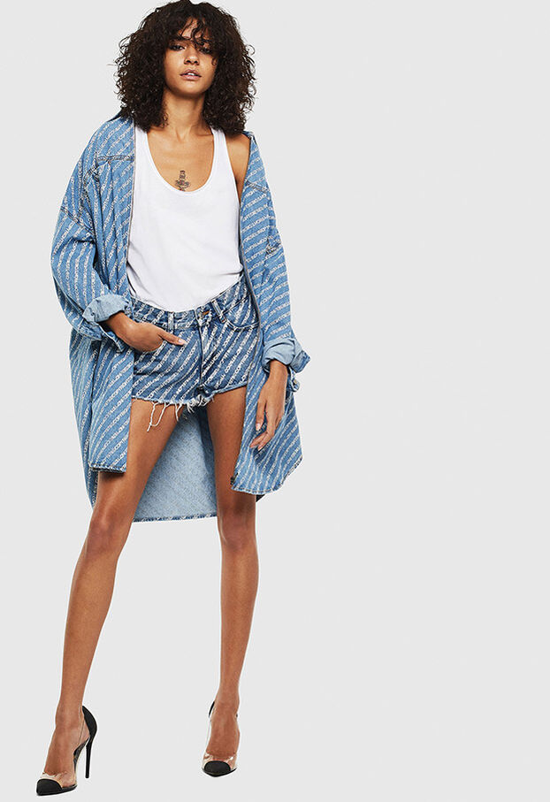 DE-RIFTY, Medium blue - Shorts