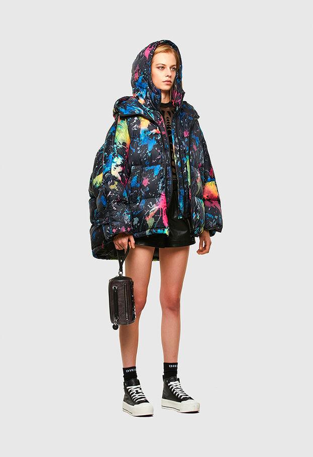 W-JANUA, Blue/Black - Winter Jackets