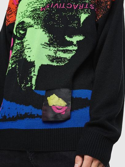 Diesel - K-MELTER, Multicolor/Black - Knitwear - Image 8
