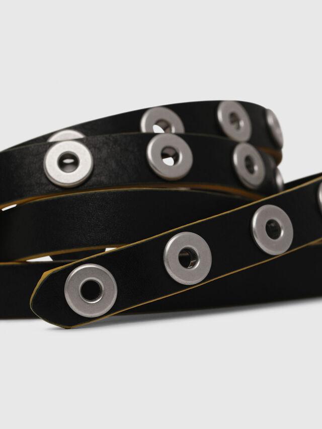 Diesel - B-MET, Black/Yellow - Belts - Image 2