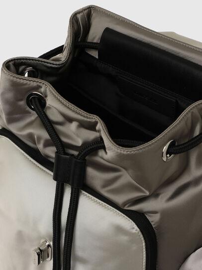 Diesel - ANERES R, White/Grey - Backpacks - Image 4