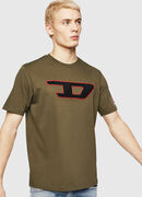 T-JUST-DIVISION-D, Military Green - T-Shirts