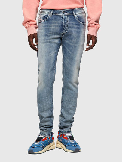 Diesel - Sleenker 009KL, Medium blue - Jeans - Image 1