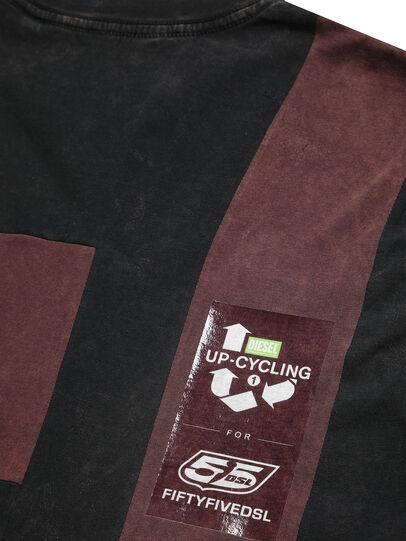 Diesel - D-FRANK&STEIN, Red/Black - T-Shirts - Image 6
