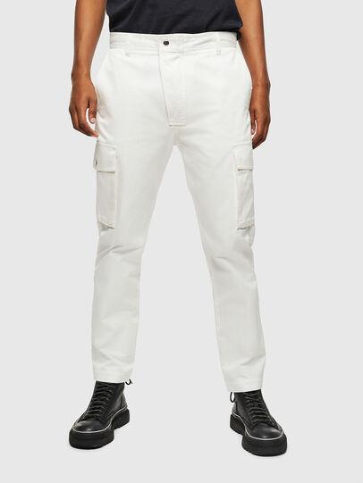 Diesel - P-JARED-CARGO, White - Pants - Image 1