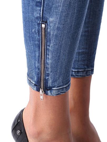 Diesel - Skinzee Low Zip 0847U,  - Jeans - Image 6