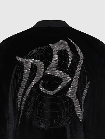 Diesel - F-CHINIL, Black - Sweaters - Image 5