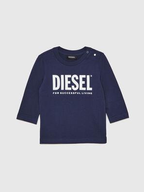 TJUSTLOGOB ML, Dark Blue - T-shirts and Tops