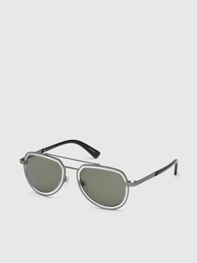 Diesel - DL0266, Black/Grey - Sunglasses - Image 2