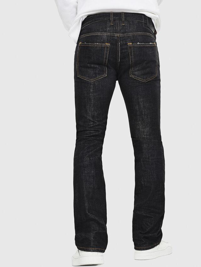 Diesel - D-Ligenz 8880W, Black/Dark grey - Jeans - Image 2