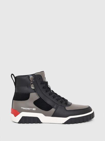 Diesel - S-RUA MID SK, Grey - Sneakers - Image 1