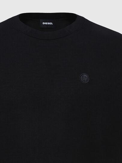 Diesel - K-CROFT-SS, Black - Knitwear - Image 3
