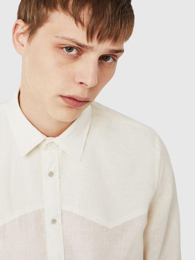 Diesel - S-PLAN-A, White - Shirts - Image 4