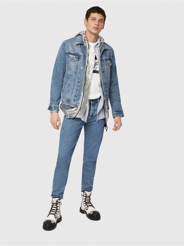 Diesel - NHILL, Blue Jeans - Denim Jackets - Image 4