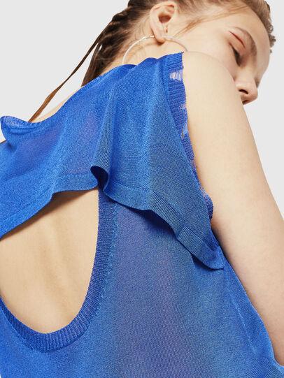 Diesel - M-LONG, Light Blue - Knitwear - Image 3