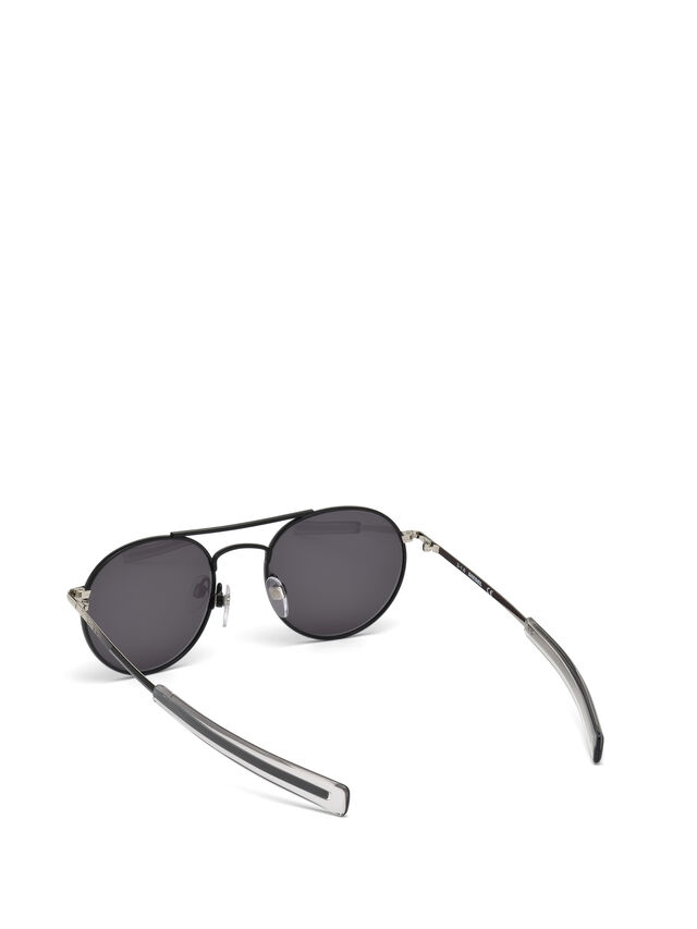 Diesel DL0220, Black - Eyewear - Image 2