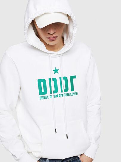 Diesel - S-GIR-HOOD-A1, White - Sweaters - Image 3