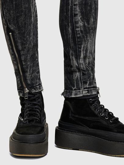 Diesel - D-Jevel 009PX, Black/Dark grey - Jeans - Image 4