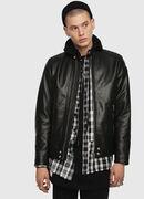 L-SHIRO-WH, Black - Leather jackets