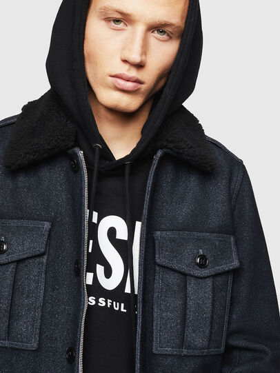 Diesel - W-VLADIMIR, Black - Winter Jackets - Image 3