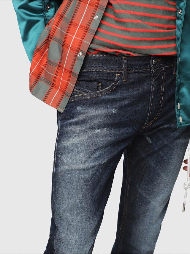 Diesel - Thommer 087AN, Dark Blue - Jeans - Image 3