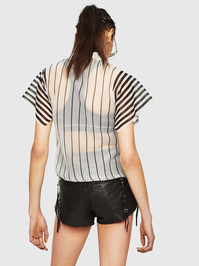 Diesel - M-RIX, White/Black - Knitwear - Image 2