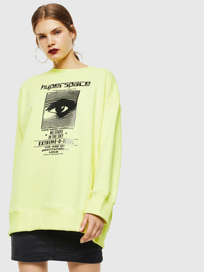F-AKUA, Yellow Fluo - Sweaters