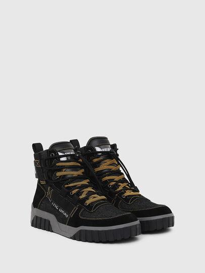 Diesel - S-RUA MID SP, Black - Sneakers - Image 2