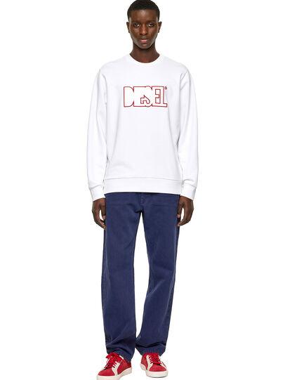 Diesel - S-GIRK-B6, White - Sweaters - Image 4