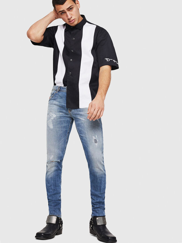Diesel - Thommer 0090M, Medium blue - Jeans - Image 5