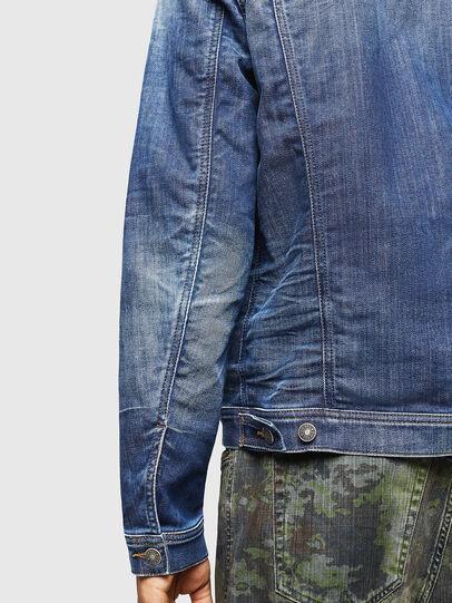 Diesel - NHILL-TW, Blue Jeans - Denim Jackets - Image 4
