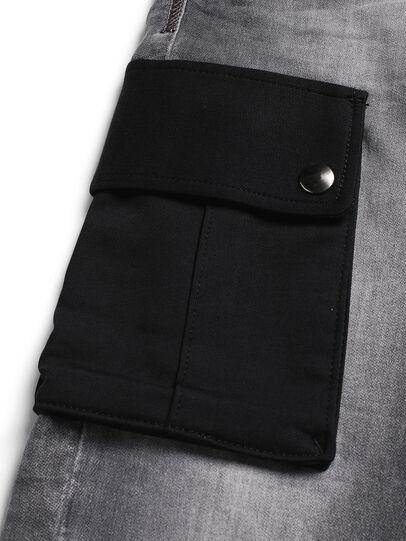 Diesel - D-ARGO-JOGG, Black/Dark grey - Pants - Image 4
