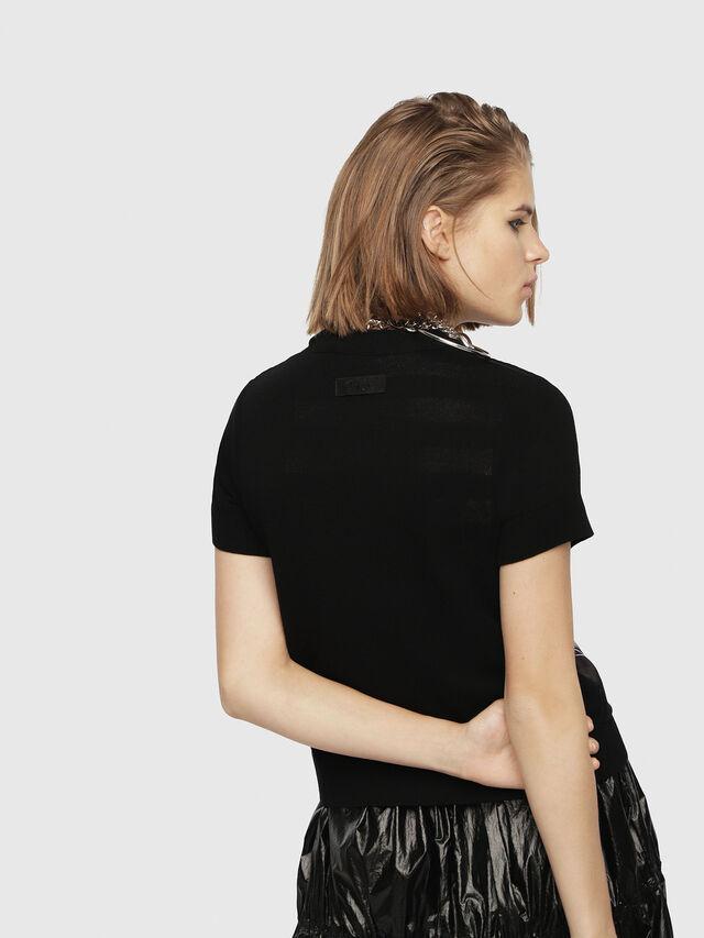 Diesel - M-UNDER, Black/White - Knitwear - Image 3