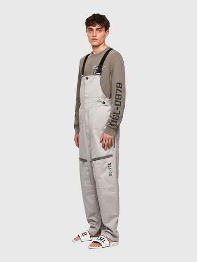 Diesel - P-JUMP-A, Light Grey - Pants - Image 5