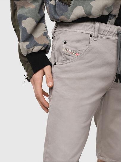 Diesel - D-KROOSHORT JOGGJEANS, Grey - Shorts - Image 3