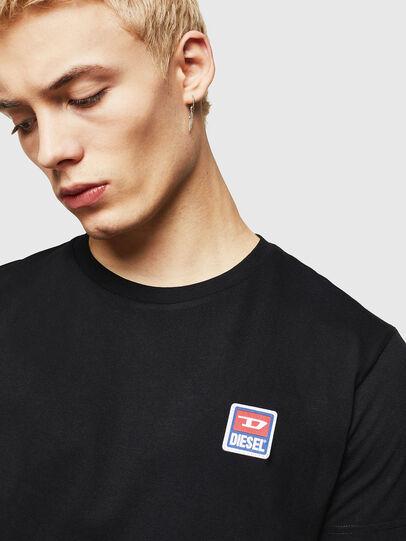 Diesel - T-DIEGO-DIV, Black - T-Shirts - Image 5