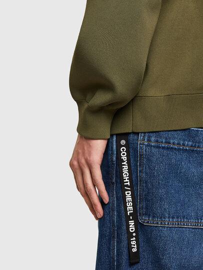 Diesel - K-ARSENIC, Olive Green - Knitwear - Image 4