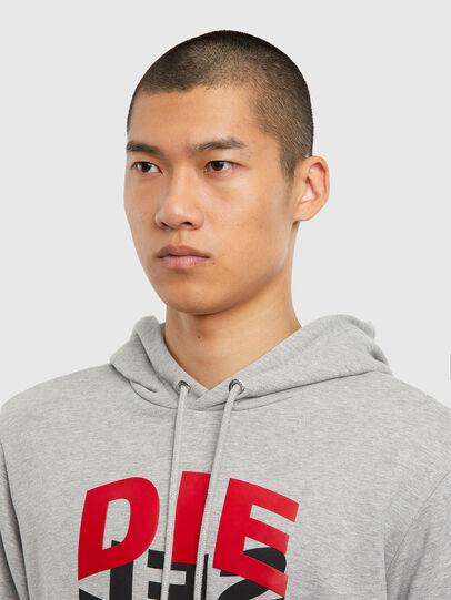 Diesel - S-GIRK-HOOD-N1, Grey - Sweaters - Image 5