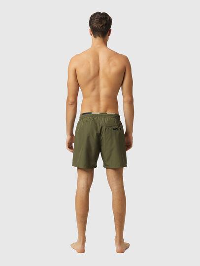 Diesel - BMBX-WAVE-X, Military Green - Swim shorts - Image 2