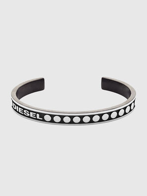 DX1167, Silver/Black - Bracelets