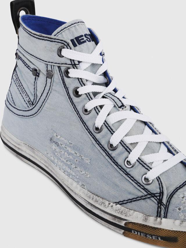 Diesel - EXPOSURE I, Light Blue - Sneakers - Image 4