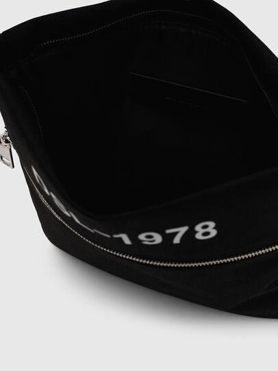 Diesel - F-URBHANITY CROSS ZP, Black - Crossbody Bags - Image 5