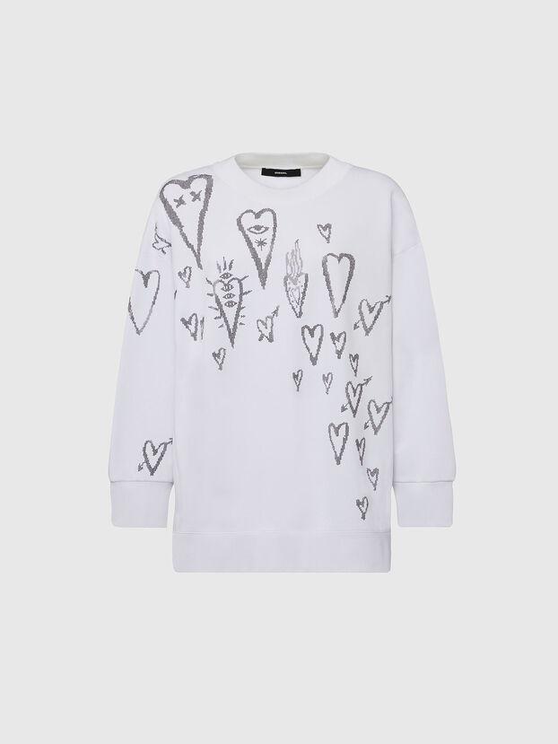 F-AKUA-E60, White - Sweaters