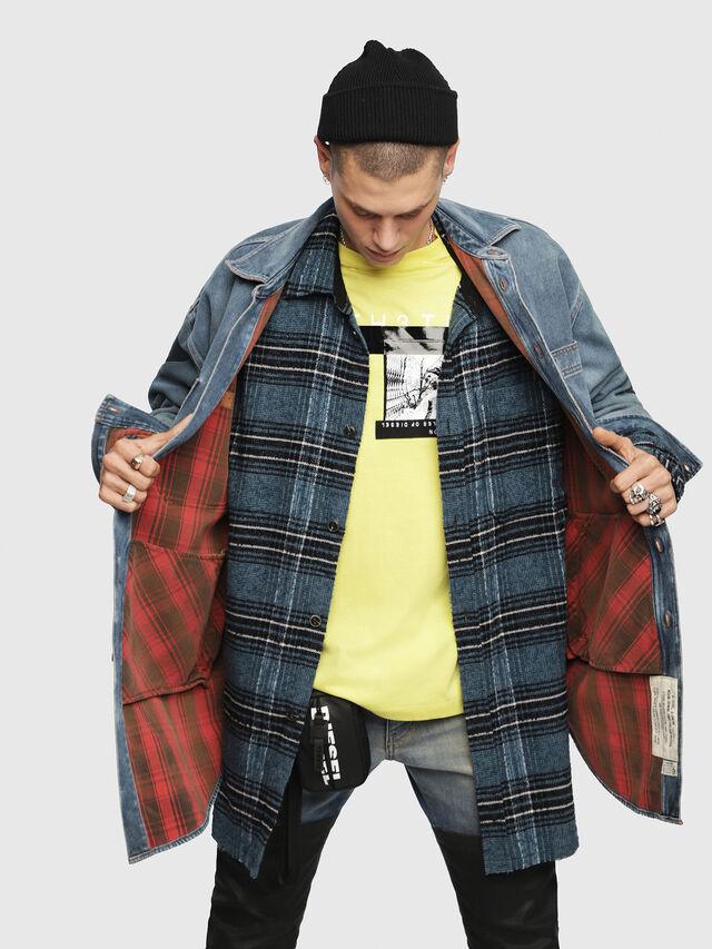 Diesel - D-LOREN, Blue Jeans - Denim Jackets - Image 4