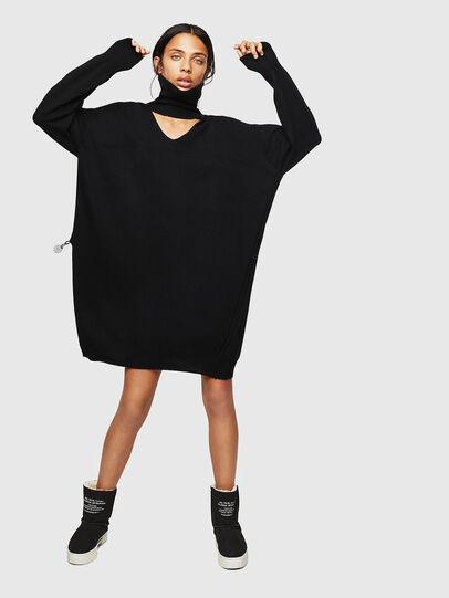 Diesel - M-LILIA, Black - Dresses - Image 1