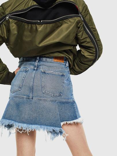 Diesel - DE-BRYX, Light Blue - Skirts - Image 2