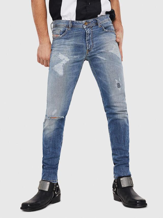 Diesel - Thommer 0090M, Light Blue - Jeans - Image 1