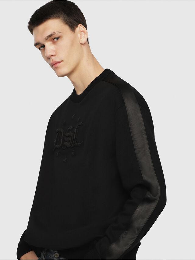 Diesel - S-BAY-RR, Black - Sweaters - Image 1