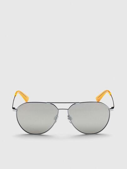 Diesel - DL0296, Grey - Sunglasses - Image 1