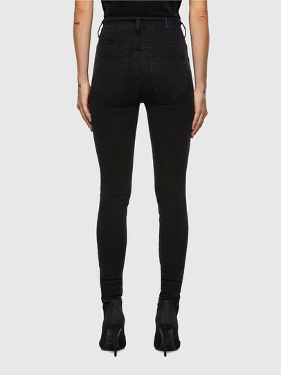 Diesel - Slandy High 069VW, Black/Dark grey - Jeans - Image 2